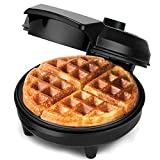 NETTA Waffle Maker Iron Machine - Non-Stick Coating | Deep Cooking Plates | Adjustable Temperature Control | Belgium American Waffle Makers - 700W