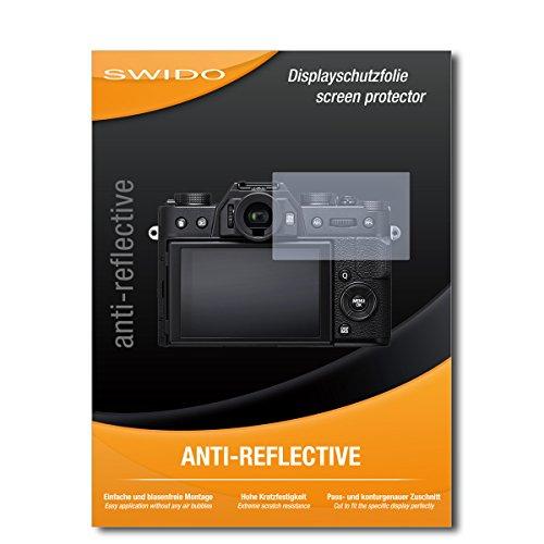 Galleria fotografica 3 x SWIDO® Pellicola Protettiva Fujifilm X-T20 Screen Protector Pellicola Protettiva Film AntiReflex antiriflesso