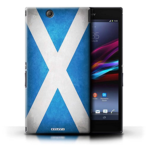 Kobalt® Imprimé Etui / Coque pour Sony Xperia Z Ultra / Suisse conception / Série Drapeau Écosse/écossais