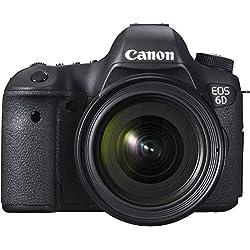 Canon - EOS-6D - Appareil Photo Numérique - Objectif EF 24-105mm - 20,6 MP