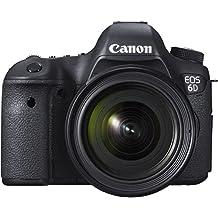Canon EOS 6d SLR de cámara digital (20,2Mpx, sensor CMOS, Live View, full HD, WiFi, GPS, DIGIC 5+)