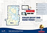 Sportbootkarten Satz 1: Kieler Bucht und Rund Fünen (Ausgabe 2017): Mit Lübecker Bucht, Nord-Ostsee-Kanal, Eider und Schlei