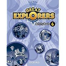 Great Explorers 6: Activity Book - 9780194507981