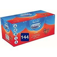 DUREX Liebe Big Pack 144 Stück Dünne Kondome Kondome Komfort preisvergleich bei billige-tabletten.eu