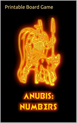 MEMORY: ANUBIS NUMBERS: Printable Board Game (English Edition)