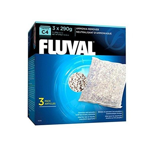 Fluval C4 Ammoniak-Entferner, 870 g, 3er-Pack -