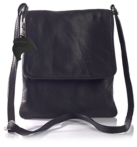 Big Handbag Shop - Borsa a tracolla donna Nero (nero)