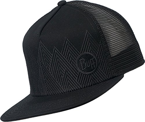 Buff Erwachsene Trucker Cap, Summit Black, One Size