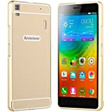 Prevoa LENOVO K3 NOTE Funda , Aluminum Bumper Funda PC Back Case para LENOVO K3 NOTE