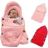 Materiale All' interno: maglia; Materiale esterno: pile.6colori per la vostra scelta, e il materiale della maglia di lana è molto morbido e comodo per tenere il tuo bambino al caldo. È anche può essere usato come una coperta, che può essere ...
