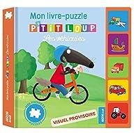 Auzou - Mes premiers puzzles - P'tit Loup et les véhicules par Orianne Lallemand