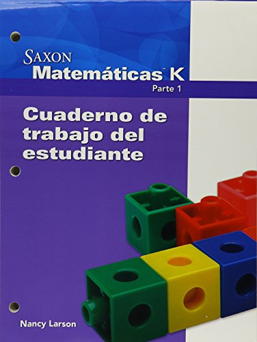 Saxon Math K Spanish: Individual Student Unit