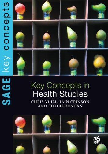 Key Concepts in Health Studies (Sage Key Concepts series)