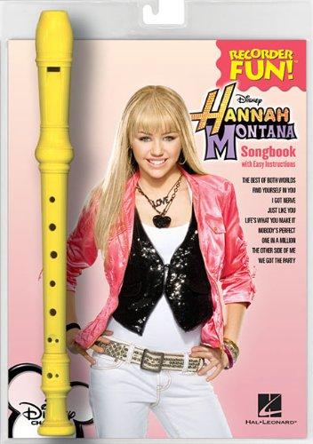 Hannah Montana Blockflöten-Set (Noten & Flöte): Recorder Fun! Pack