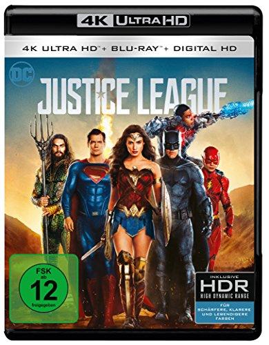 The Justice League - Ultra HD Blu-ray [4k + Blu-ray Disc]