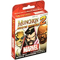 Munchkin Marvel 2 Mystic Mayhem Board Game by USAopoly