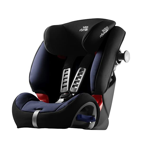 Britax Römer MULTI-TECH III Car Seat (9 Months-6 Years  9-25 kg), Moonlight Blue  Advanced side impact protection - the SICT feature offers superior protection to your child in the event of a side collision Extended rearward facing - rearward facing car seats offer the best protection in the event of a frontal collision - the most frequent type of accident on the roads Deep, protective side wings - the soft, padded side wings act as a protective cocoon that helps to absorb the force from a side impact, reducing the risk of injuries to your child 9