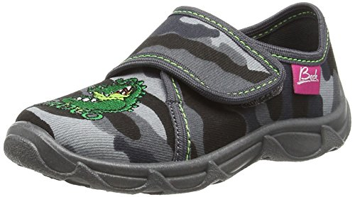 beck-croco-chaussons-garcon-gris-grau-24-30-eu