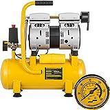 Mophorn Compresor de Aire Compresor sin Aceite de Lubricación de Aceite Portátil Compresor ...