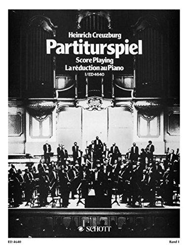 SCHOTT HEINRICH CREUZBURG - SCORE PLAYING VOL.1 M�...