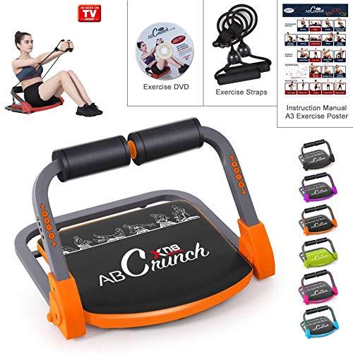 Xn8 Sports ABS Core Fitness Entrenador Smart Body Ejercicio Máquina Entrenamiento AB Toning Gym Home Equipment, Orange: