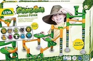 Lena 65206 - Cascade Jungle Fever - Kugelbahn im Dschungel-look
