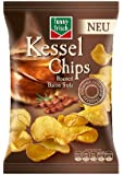 Funny-Frisch Kessel Chips Roasted Bacon, 4er Pack (4 x 120 g)