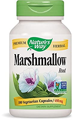 Marshmallow Root, 480 mg, 100 Capsules - Nature's Way from Nature's Way