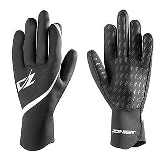 Zanier Erwachsene Aquapro Handschuhe, Schwarz, S