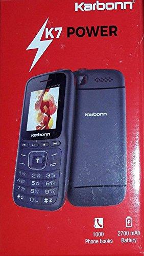 Karbonn K7 Star Dual Sim Phone (Black)