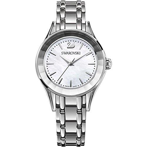 Swarovski Damen Analog Quarz Uhr mit Edelstahl Armband 5188848