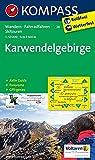 Karwendelgebirge: Wanderkarte mit Aktiv Guide, Panorama, Radwegen und Skitouren GPS-genau. 1:50000: Wandelkaart 1:50 000 (KOMPASS-Wanderkarten, Band 26)