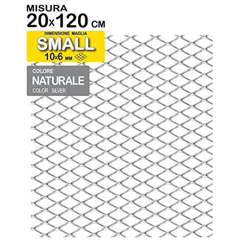 Preisvergleich Produktbild TUNING GURU 1108390 Grillrost,  verchromt,  120 x 20 cm