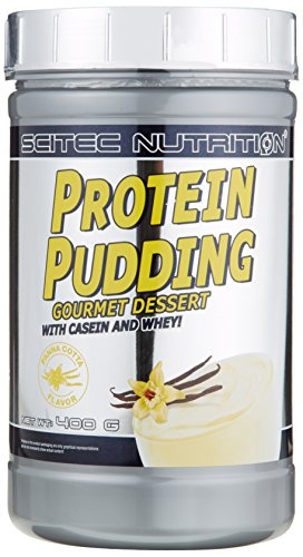 Scitec Nutrition Protein Pudding Panna Cotta, 1er Pack (1 x 400 g)