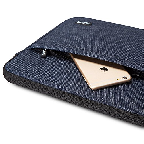 224028ce672 Plemo 15 - 15.6 Inch Laptop Sleeve Case Bag Cover for MacBook Pro   Notebook  Compute Acer Asus Dell Fujitsu Lenovo HP Samsung Sony Toshiba with Denim  Fabric ...
