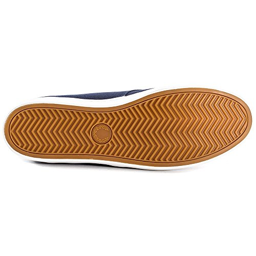 Fred Perry Byron Low Twill B8233608, Baskets Mode Homme Navy