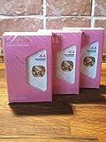 Perfume Millionaire para mujer de Cesar Madfai - Eau de Parfum - 3 unidades de 18 ml (0,6 oz) - Tamaño de viaje
