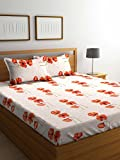 #5: Cortina 104 TC Cotton Double Bedsheet with 2 Pillow Covers  - Multicolour