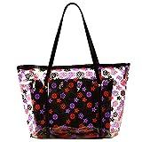 Petalum Damen Bag Handtasche Jelly Packung Fashion Strandbag Boho Shopping Bag Damenbag