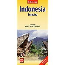 Nelles Map Landkarte Indonesia: Sumatra: 1:1,5 Mio   reiß- und wasserfest; waterproof and tear-resistant; indéchirable et imperméable; irrompible & impermeable (Nelles Map / Strassenkarte)