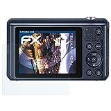 atFoliX Panzerfolie für Samsung WB35F Folie - 3 x FX-Shock-Clear stoßabsorbierende ultraklare Displayschutzfolie