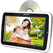 lettore dvd portatile auto poggiatesta si infila dvd con schermo 10.1 Pollici, dvd portatile per auto poggiatesta Con l'adattatore AC, Porta HDMI /USB /SD /AV-IN /AV-OUT, 18 mesi di garanzia.