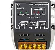20A 12V/24V Solar Panel Charge Controller Battery Regulator Safe Protection smart home arduino