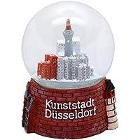 30010 Schneekugelhaus Snowglobe Bola de Nieve como Souvenir de la Ciudad Düsseldorf