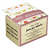 Box of 100 Kitchen Craft Jam Jar Preserve Labels Self-Adhesive jellies marmalade
