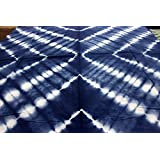 2.5 Meter Fabric Indian Hand Block Print Fabric Cotton Fabric Shibori Print Runing Fabric 496