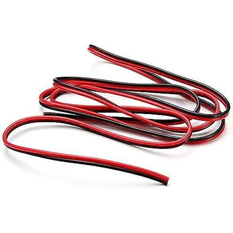 Bazaar 1m estensione 2pin filo connettore del cavo del cavo di LED luci di striscia - 1m Estensione Piombo