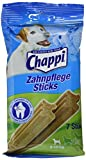 Chappi Dental-Hundesnacks Zahnpflege-Sticks zur Reduzierung von Zahnstein & Zahnbelag für kleine Hunde bis 10kg (10 x 7Stück)