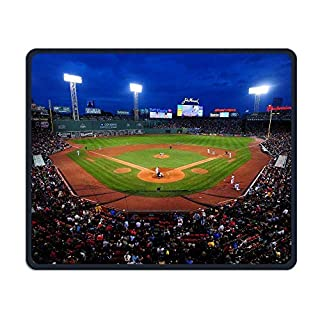 Fenway Ballpark Office Rectangle Non-Slip Rubber Mouse Pad Comfortable Gaming Mouse Pad for Laptop Displays Tablet Keyboard