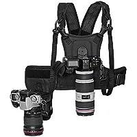 Micnova MQ-MSP01 doppia fotocamera dual trasporto fotografo Vest con guscio